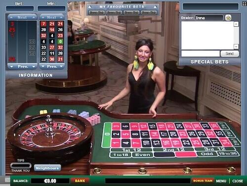 Live Dealer in Casino